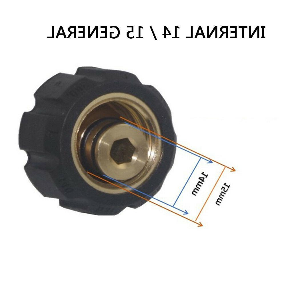 3/8 Quick Connect to M22 14 15 Washer