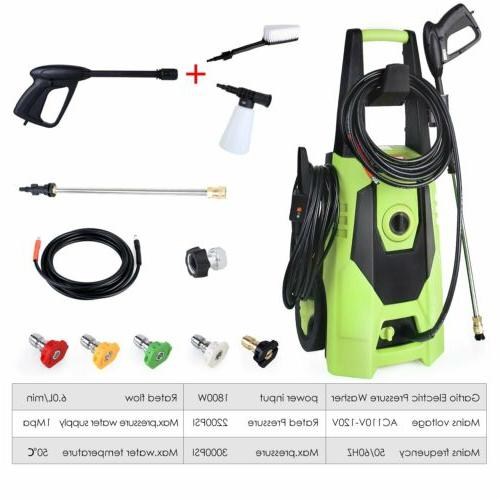3000 PSI 1.8GPM Water Cleaner Kit