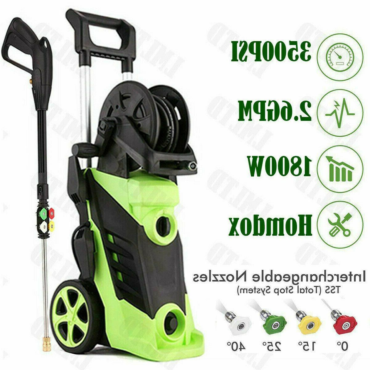 3500PSI 2.8GPM Electric Pressure Washer High*Water Power Cle