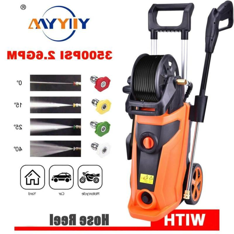 3500PSI Water Electric Washer 1800W 2.6 GPM Cleaner
