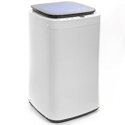 Full-Automatic 7.7LBS Portable Compact Washing Machine Spin