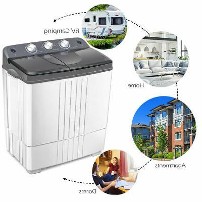 Compact Portable Twin Tub Lbs Spinner