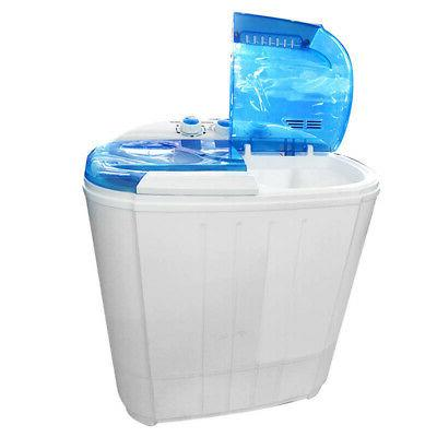 Compact Portable Dryer with Machine White