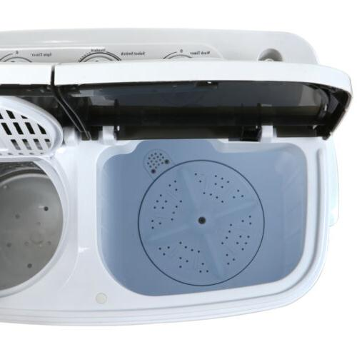 White Portable Washer & Washing Dryer