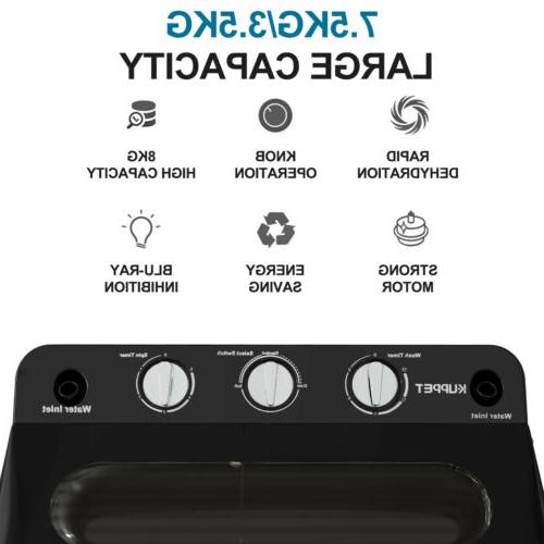 24LBS Tub Compact Spinner Laundry Dryer