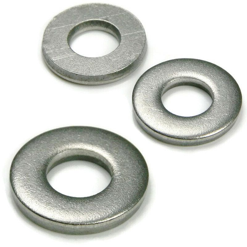 Extra 18-8 Stainless Steel Washers Inch Size