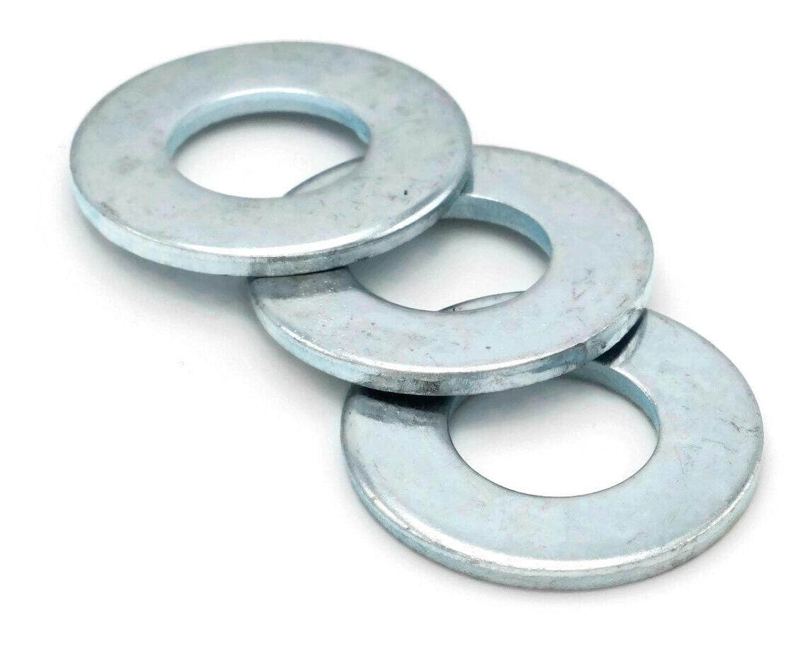 Flat Washers Plated Steel Inch Washers -