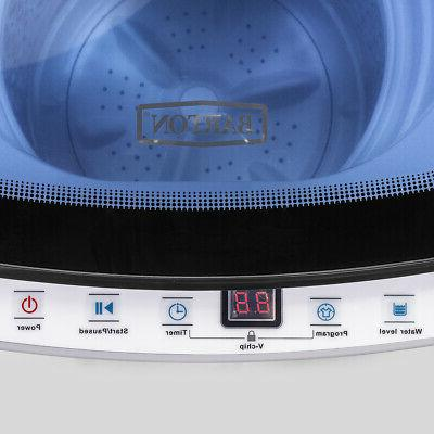 Full-Automatic 7.7LBS Washing Spin Laundry