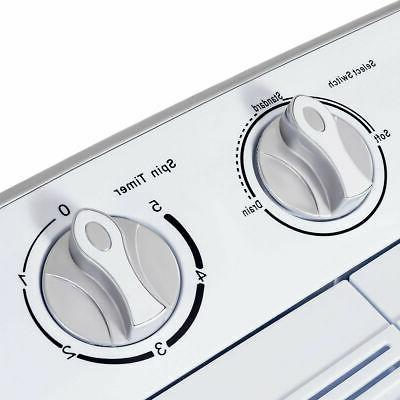 Mini Twin Washing Spin White