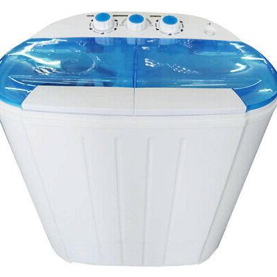 Compact Washer Dryer with White