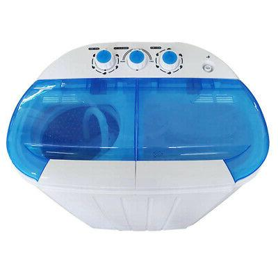 Compact Dryer with Machine and White