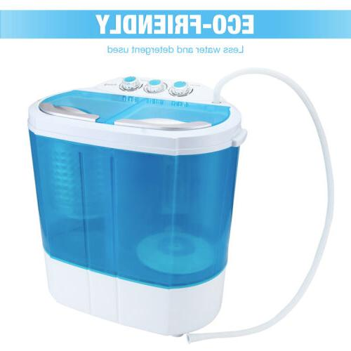 10 Portable Compact Washing Washer Spin Dryer