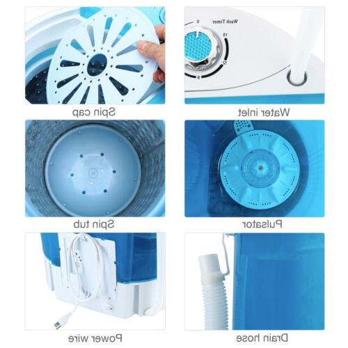 10 LBS Portable Compact Washer Dryer