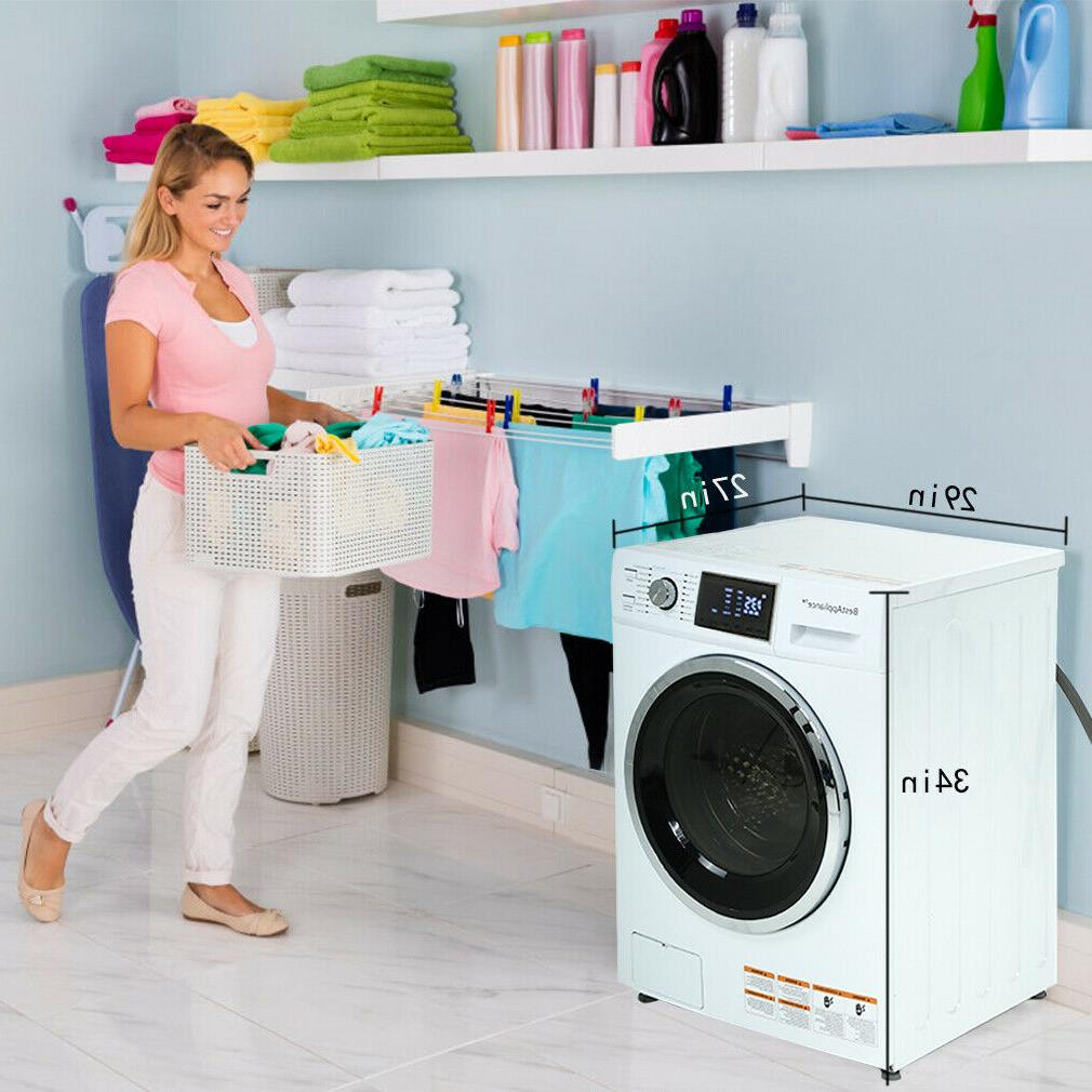 New 2.7 Ft. Combination Washer/Dryer Ventless
