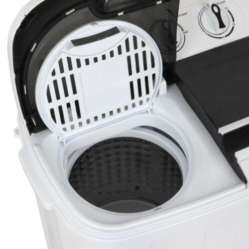 White & with Mini Washing Dryer