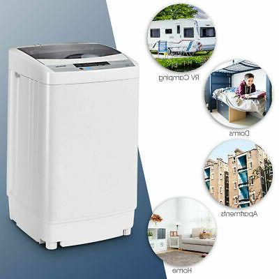 Portable 1.6 Cu.ft Washer Drain 8 Level