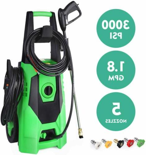 Portable Home Pressure Washer 3000PSI Water