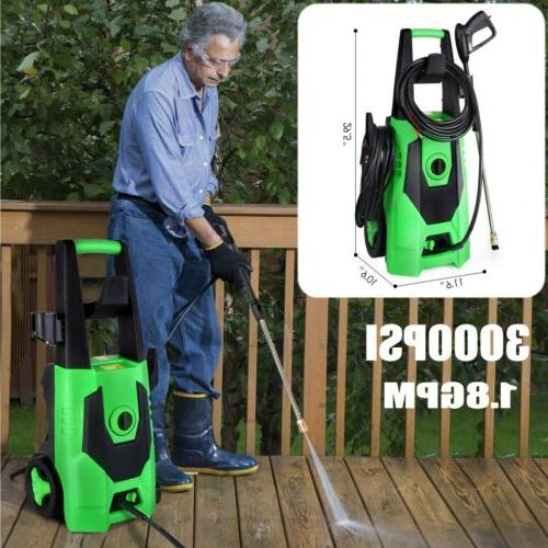 portable home electric pressure washer 3000psi high