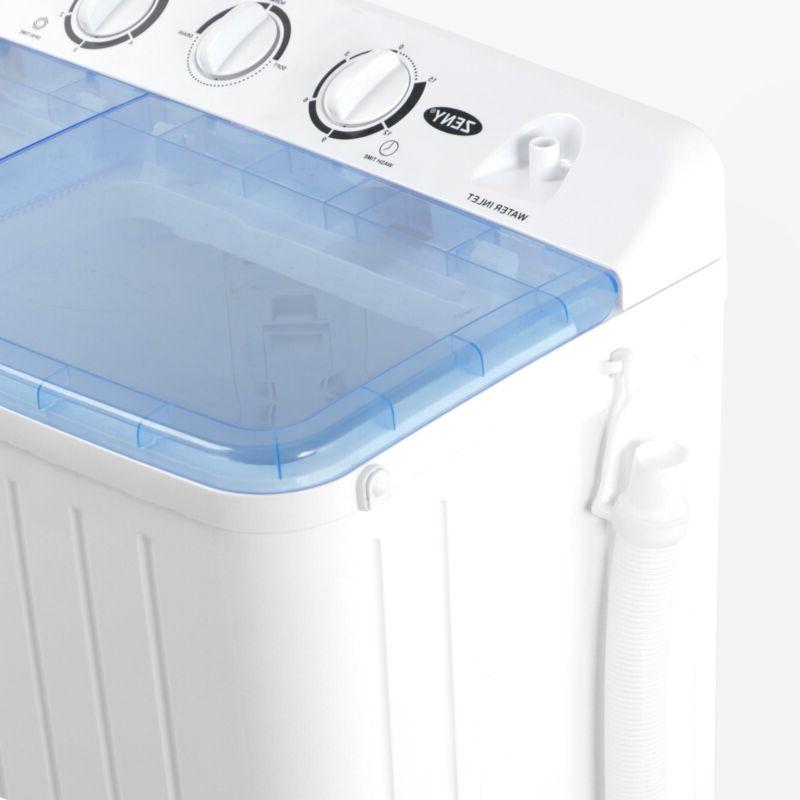Portable Tub 17.6lb Washing Washer Spin Spinner New