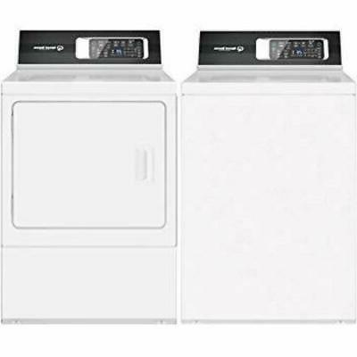 side by side top front load washer