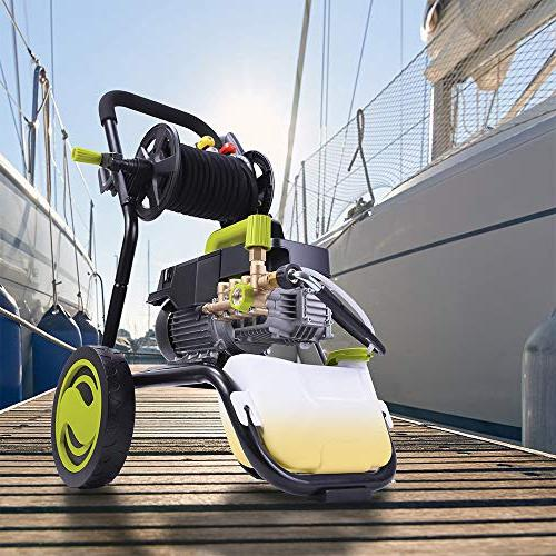Sun HP 1800 PSI GPM Pressure Washer with and Hose Reel