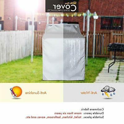 Washer Cover/Dryer  Fit for outdoor Top-Load & Front Machine