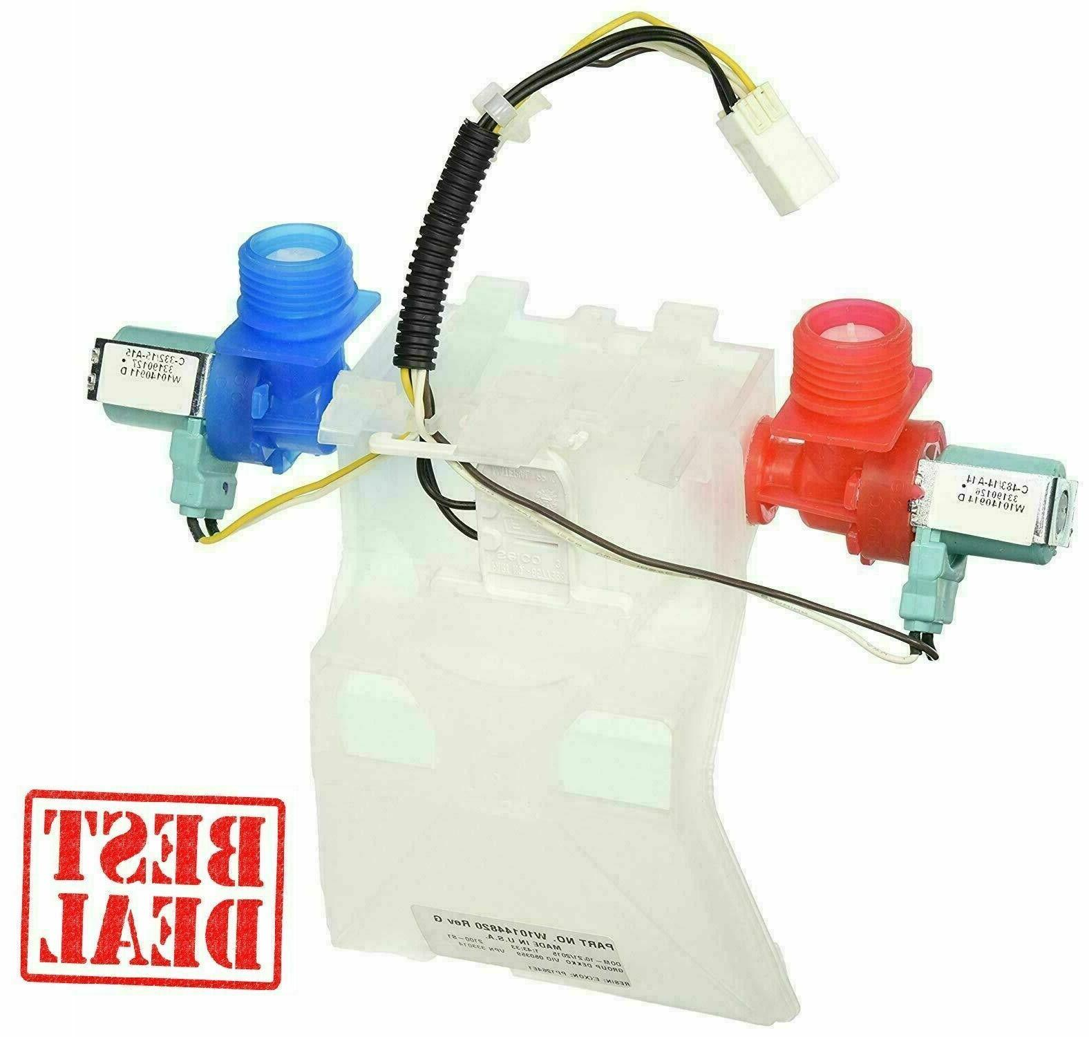 washer water inlet valve replacement wpw10140917 w10140917