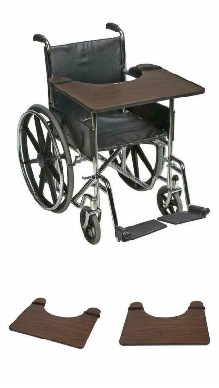 wheelchair wood lap tray wooden table rest