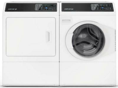 wht side by side washer and dryer