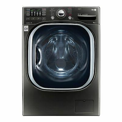 LG WM4370HKA 4.5 cu. ft. Ultra Large Capacity TurboWash® Bl