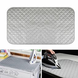 Magnetic Ironing Portable Mat Washer Dryer Cover Board Heat