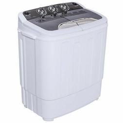 Mini Compact Twin Tub Washing Machine Washer 13lbs Spin Spin