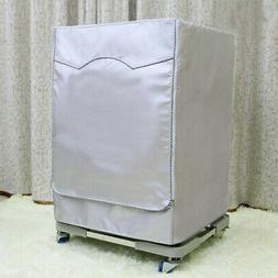 Oxford Cloth Washing Machine Cover Dryer Dust Proof Front Lo