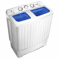 Portable Compact Mini Laundry Clothes Washing Machine Spin W