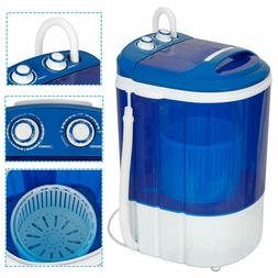 Portable Compact Washing Machine w/Washer&Spinner,Gravity Dr