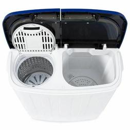 Portable Washer Machine Spin Dry Compact Twin Hose Dorm RV C