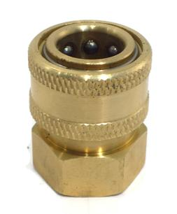 "QUICK DISCONNECT COUPLER SOCKET 3/8"" FMP for Power Pressure"