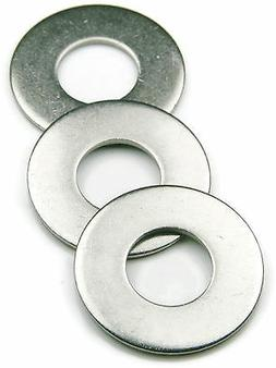 Stainless Steel Flat Washer Series 820 SAE, 5/8 ID x 1.312 O