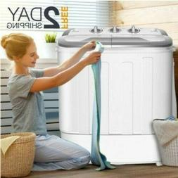 Top Load Washer And Dryer Set All In One Combo Compact Machi