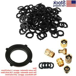 USA_100x Shower Hose Washers Rubber O-Rings Seal Tabs for 3/