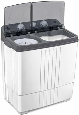 Washer and Spin Dryer Washing Machine RV Camping 16 lbs Top