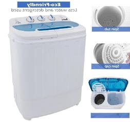 Washer Combo Dryer Compact Mini Portable Electric Washing Ma