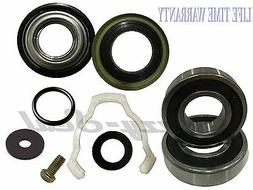 Whirlpool Washer Front Loader Seal 2 Bearings and Washer Kit