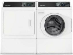 Speed Queen WHT Side by Side Washer & Dryer Set FF7005WN  /